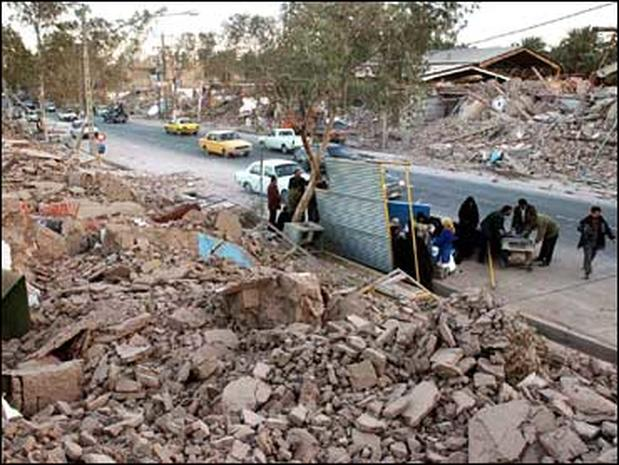 Iranian Quake: The Aftermath