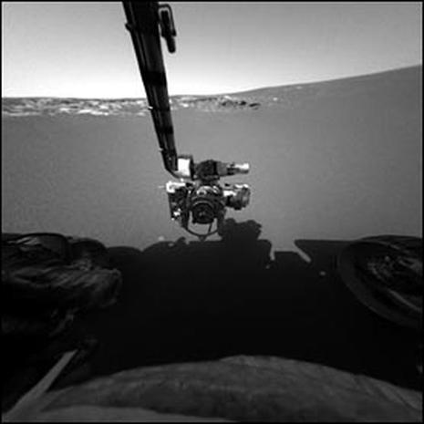 Opportunity Arrives