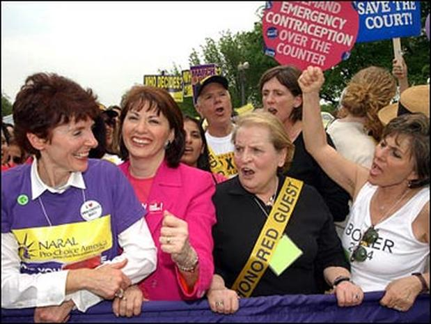 Women March On D.C.