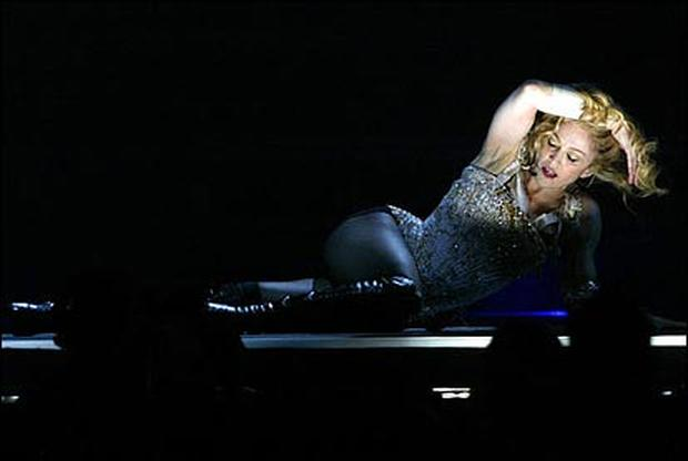 Madonna Hits The Road