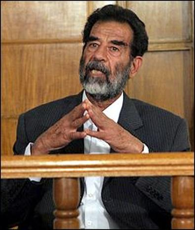 Saddam In Court