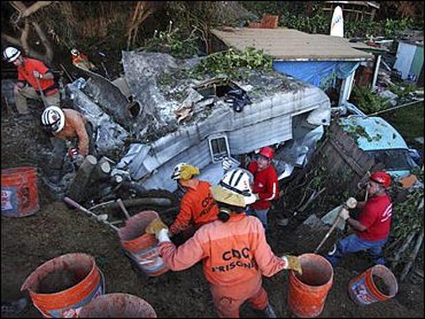 California Mudslides Aftermath