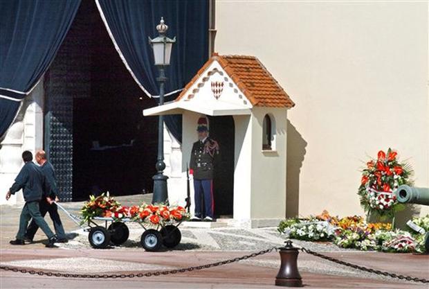 Mourning in Monaco