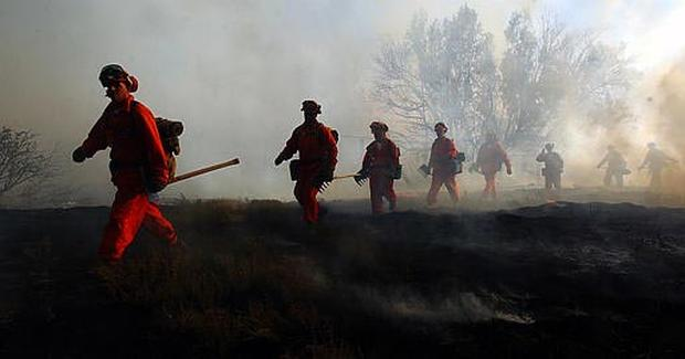 Wildfires: June 2005