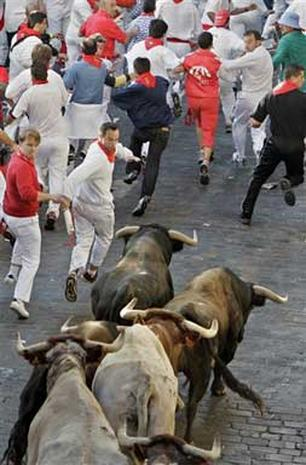 2005: Running of the Bulls