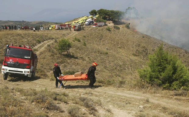 Greek Air Tragedy