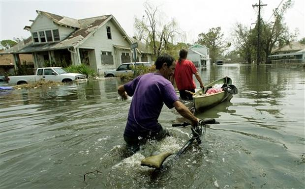 Katrina:  New Orleans Under Water