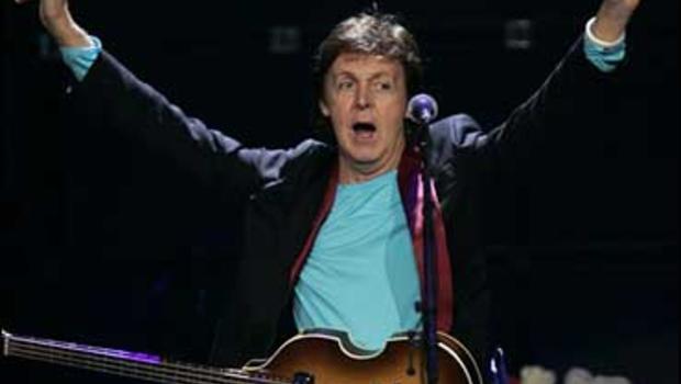 Paul McCartney Sings To Space Crew