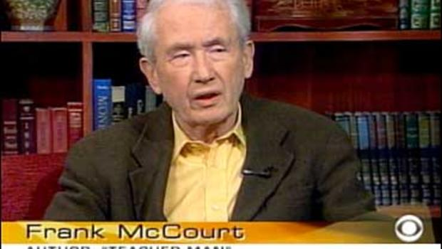 frank mccourt teacher man Teacher man by frank mccourt - from the pulitzer prize-winning, mega-bestselling author who wore his celebrity with extraordinary grace comes a magnificently.
