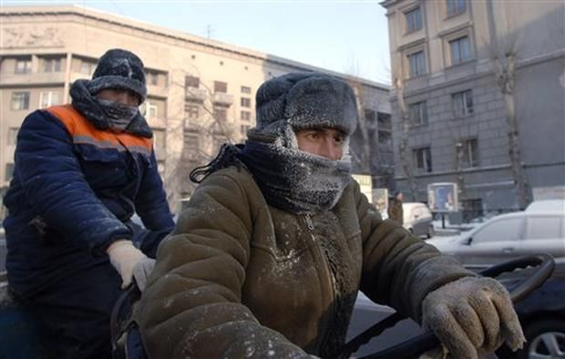 Russia Cold Spell