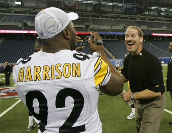 Super Bowl XL: Steelers Media Day