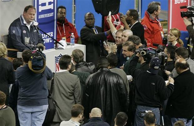 Super Bowl XL: Seahawks Media Day