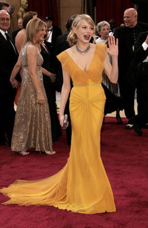1950s Seven Decades Of Oscar Fashion Pictures Cbs News