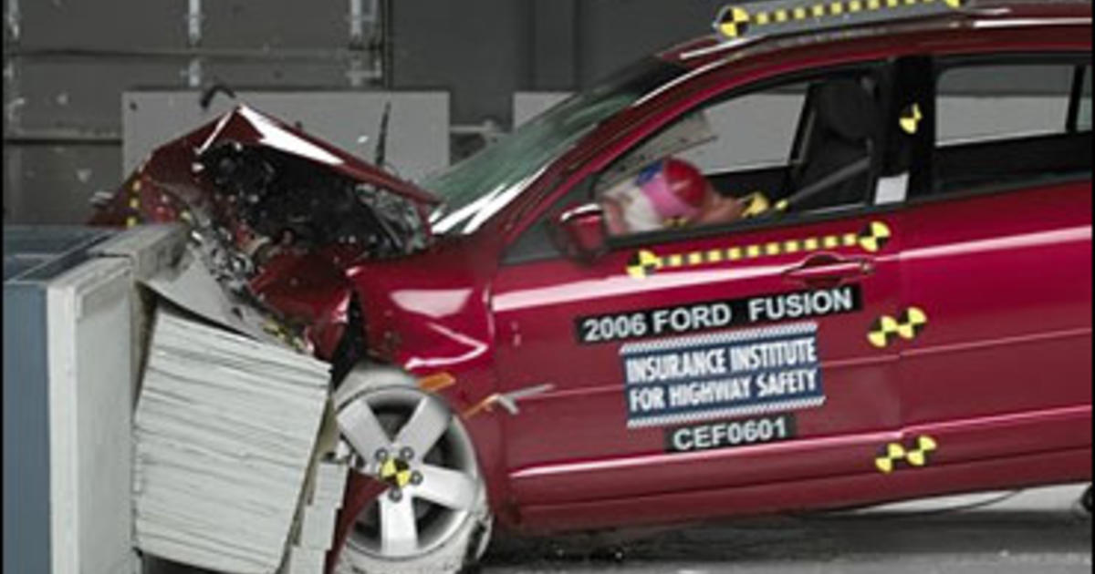 Ford Fusion Flunks Crash Test Cbs News