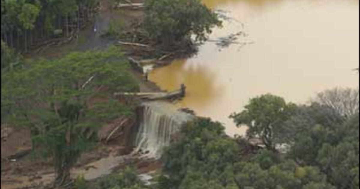 7 Missing After Hawaiian Dam Burst - CBS News