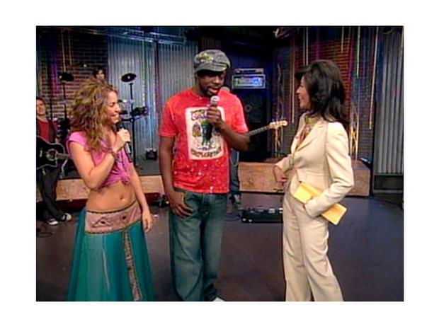 Shakira and Wyclef Jean