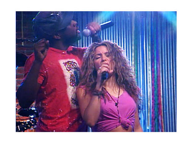 Shakira and Wyclef Jean