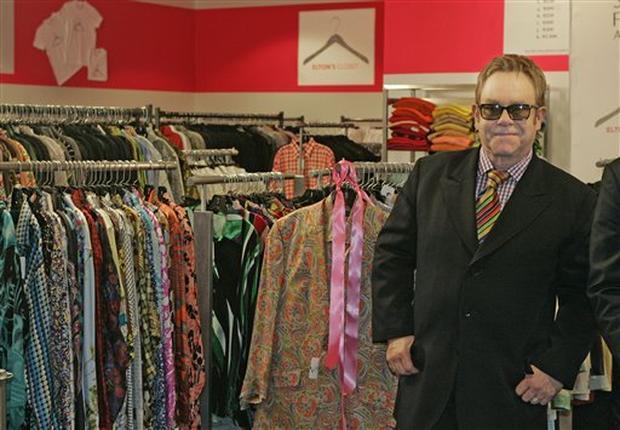 'Elton's Closet'