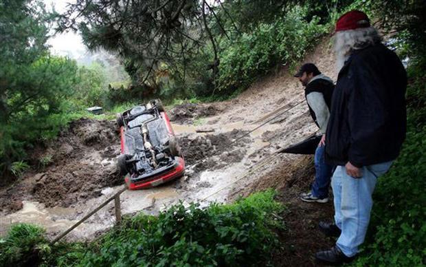 Rains Trigger Muddy Mess