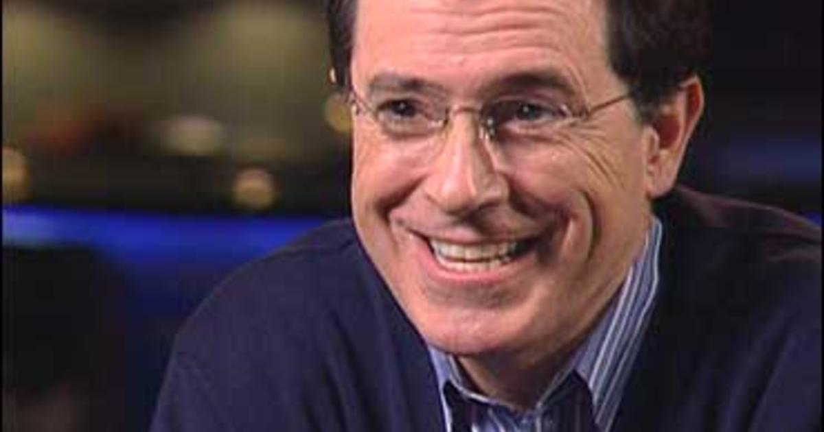 Stephen Colbert Sparks Wiki War Cbs News
