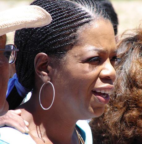 Oprah Visits The Navajo Nation