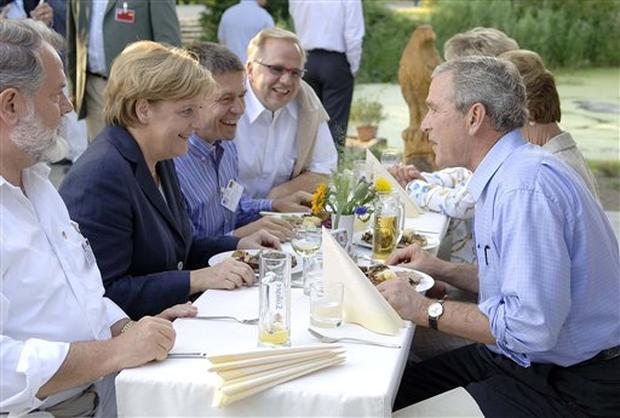 Bush In Germany