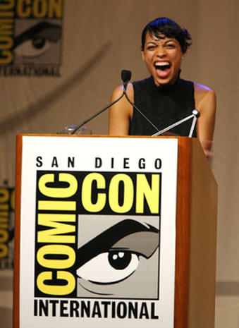 Celebs At Comic-Con