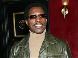"""Wesley Snipes at the premiere of """"The Inside Man"""""""
