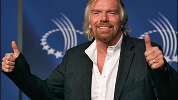 Sir Richard Branson attends the opening night reception of The Clinton Global Initiative