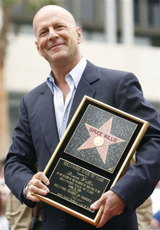 A Star For Bruce Willis