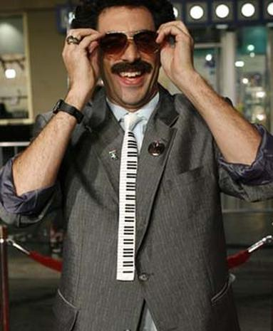 'Borat' Makes A Splash