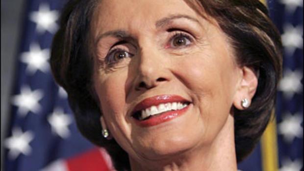 Democratic House Leader Rep. Nancy Pelosi of Calif.