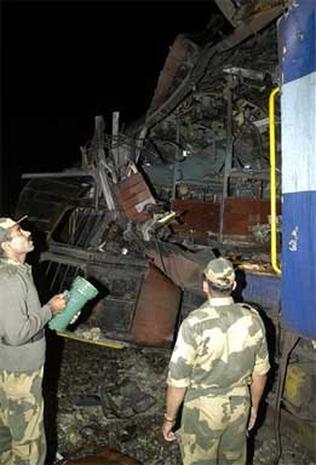 Train Explosion In India
