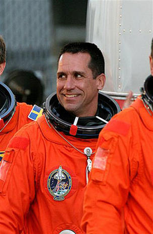Astronaut Arrested