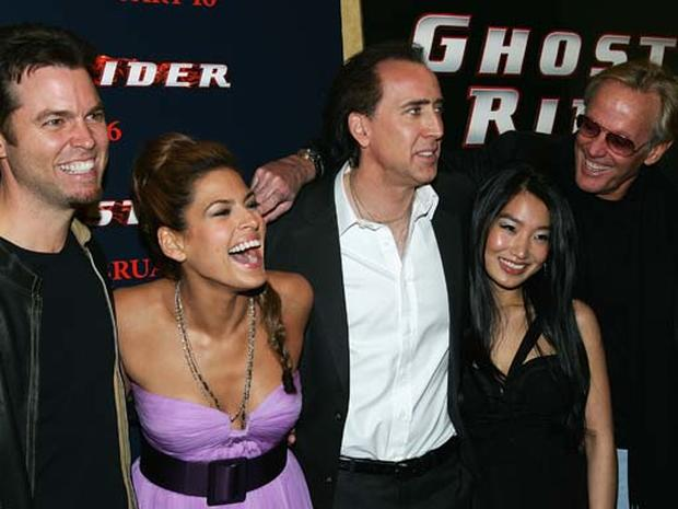 """""""Ghost Rider"""" Comes To N.Y."""