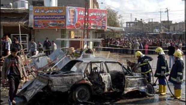 Car bomb, Kirkuk, Iraq, Feb. 17, 2007