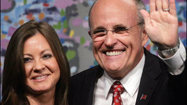 Former New York Mayor and 2008 prospective presidential candidate Rudolph Giuliani and wife Judith Nathan