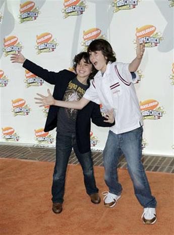 Kids' Choice Awards Orange Carpet