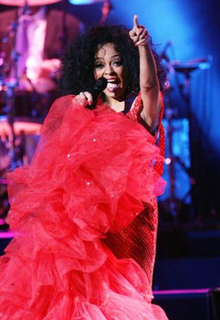 Lady Sings In Red