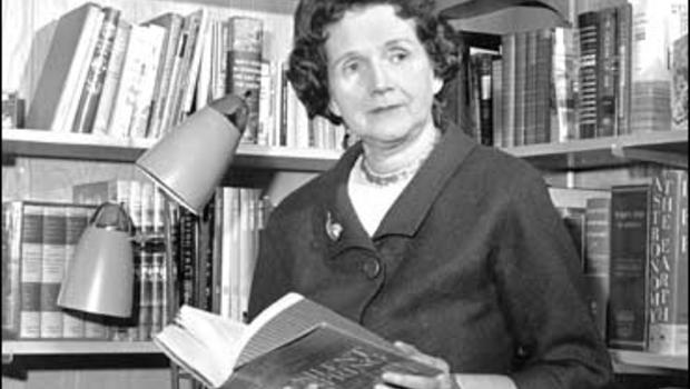"""Rachel Carson, author, """"Silent Spring"""""""