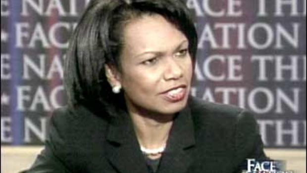 Condoleezza Rice on Face The Nation, April 29, 2007