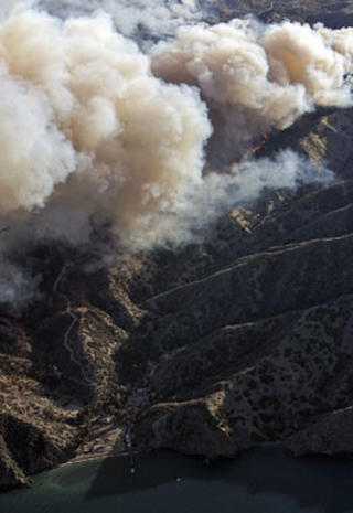 Catalina Island Fire