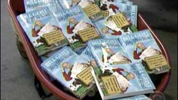 Bill Geist is busy shopping his new book around town in the hope of boosting sales.