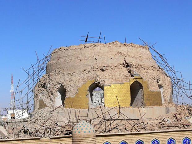 Iraq Shrine Hit Again