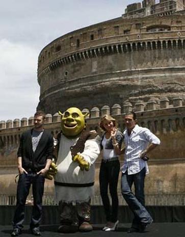 """Shrek"" in Europe"