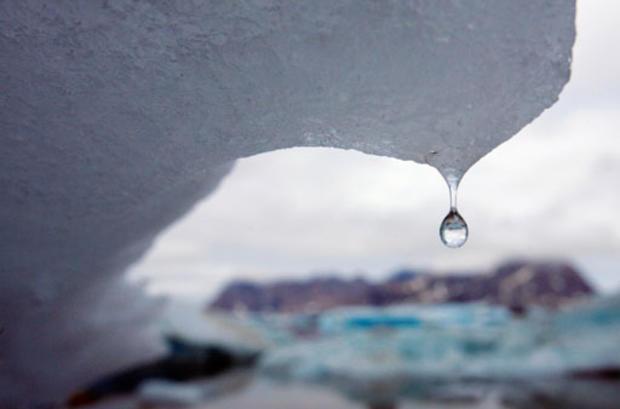 climate change melting ice caps