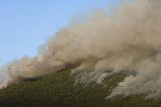 Wildfires Plague Greece