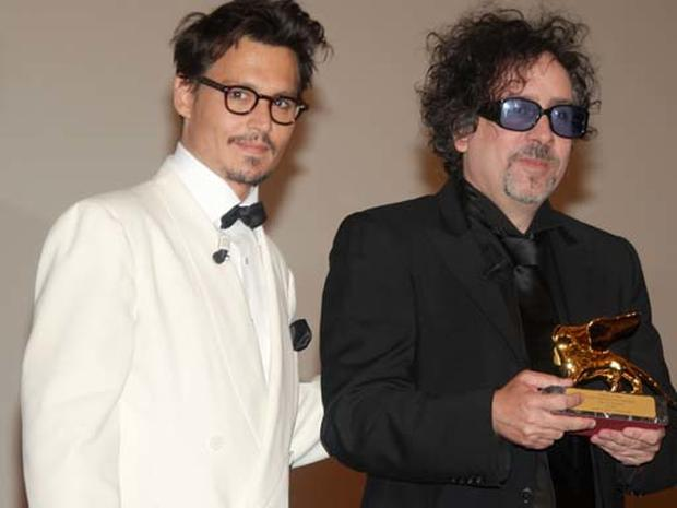 Golden Lion For Tim Burton