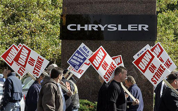 Chrysler Workers Walk
