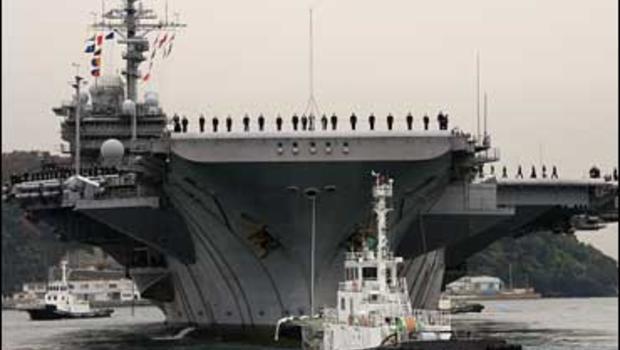 USS Kitty Hawk makes port call to Tokyo